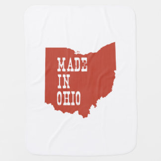Made In Ohio Baby Blanket