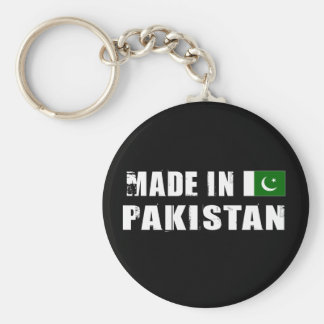 Made in Pakistan Basic Round Button Key Ring