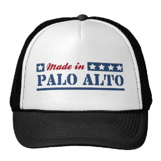 Made in Palo Alto Hats