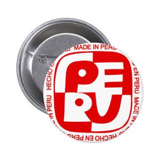 Made In Peru Button