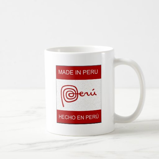 Made In Peru Coffee Mugs