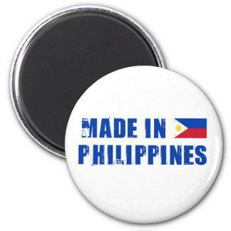 Made in Philippines 6 Cm Round Magnet