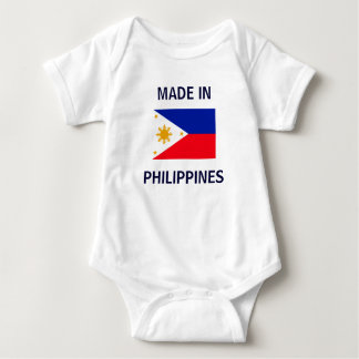 Made in Philippines Baby Bodysuit