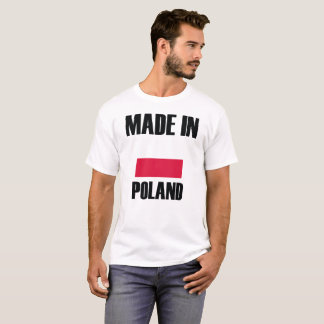 Made In Poland Flag T-Shirt