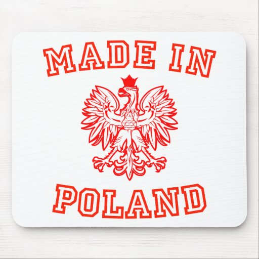 Made In Poland Mouse Mats