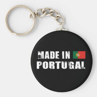 Made in Portugal Basic Round Button Key Ring