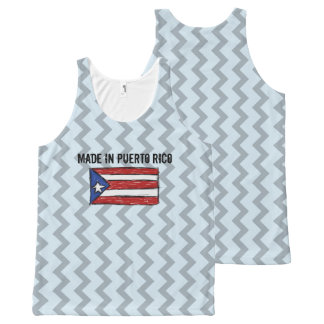Made in Puerto Rico All-Over Print Singlet