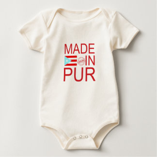 Made in PUR Baby Bodysuit