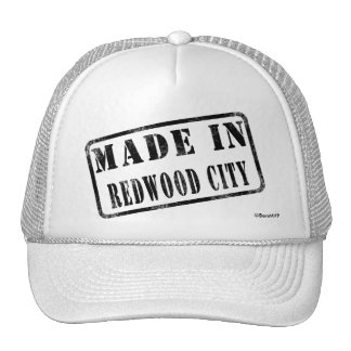 Made in Redwood City Cap