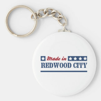 Made in Redwood City Key Ring