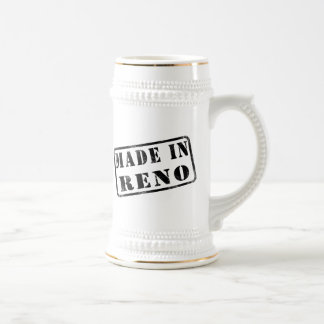 Made in Reno Beer Stein