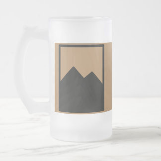 Made In Reno Frosted Glass Beer Mug