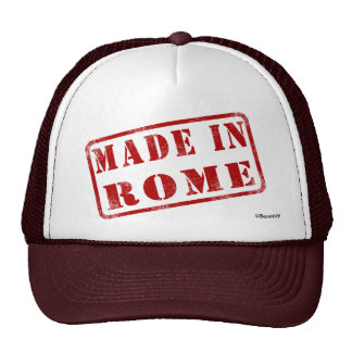 Made in Rome Trucker Hats