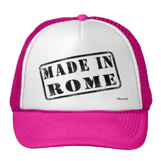 Made in Rome Trucker Hat