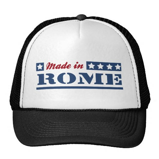Made in Rome Hats