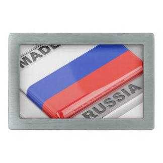 Made in Russia Rectangular Belt Buckles