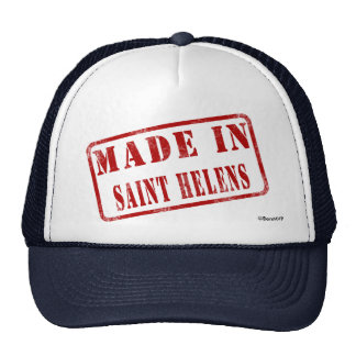 Made in Saint Helens Trucker Hat