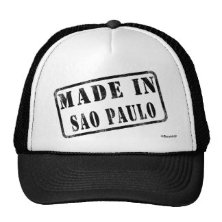 Made in Sao Paulo Trucker Hat
