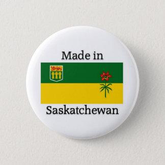 Made in Saskatchewan 6 Cm Round Badge