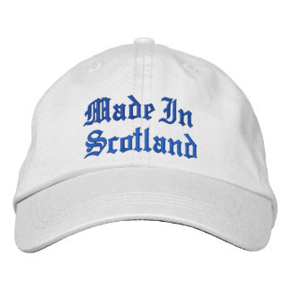 Made In Scotland Baseball Cap