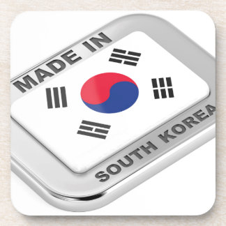 Made in South Korea Coaster