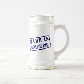 Made in South Lake Tahoe Beer Steins