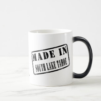 Made in South Lake Tahoe Morphing Mug