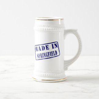 Made in Springfield 18 Oz Beer Stein