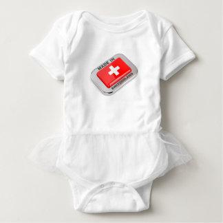 Made in Switzerland Baby Bodysuit