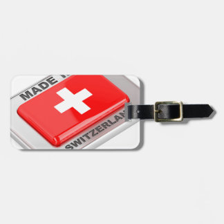 Made in Switzerland Luggage Tag