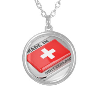 Made in Switzerland Silver Plated Necklace