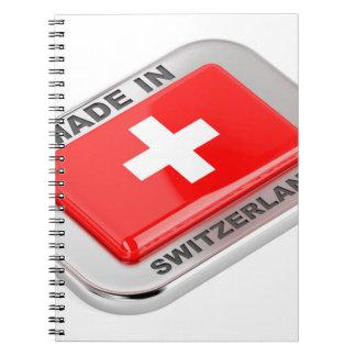 Made in Switzerland Spiral Notebook