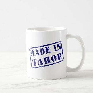 Made in Tahoe Basic White Mug