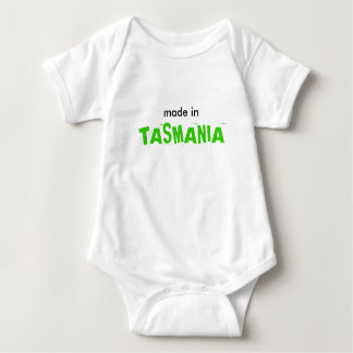 made in, TASMANIA Baby Bodysuit