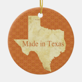 Made in Texas Baby's 1st Christmas Photo Ornament