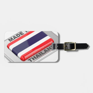 Made in Thailand Luggage Tag