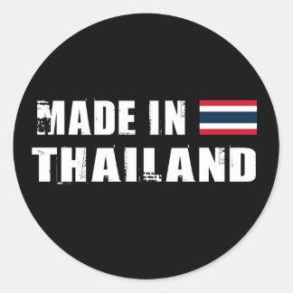 Made in Thailand Round Sticker