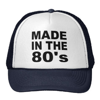 Made in the 80s - Birthday Cap