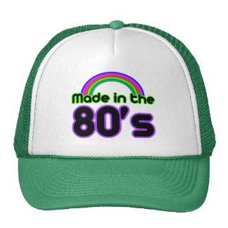 Made in the 80's cap