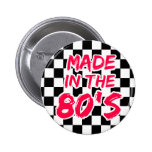 Made in the 80s pinback buttons