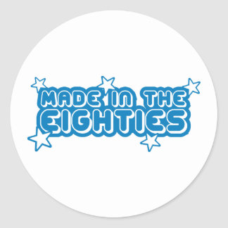 Made In The Eighties (80s) Stickers