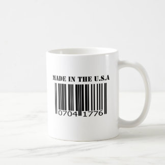 Made in the U.S.A barcode Coffee Mug