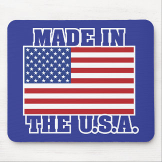 Made in the U.S.A. Mouse Pad