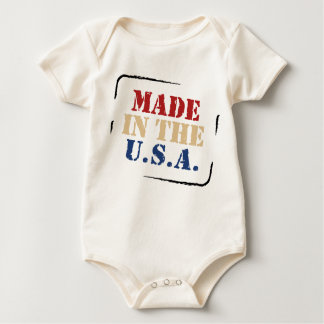 Made in the USA baby Baby Bodysuit