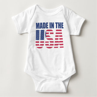 Made in the USA Baby Bodysuit