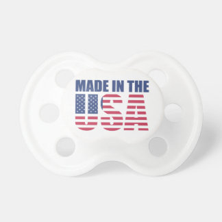 Made In The USA Baby Pacifiers