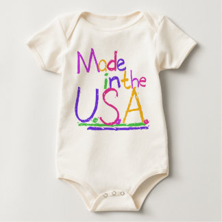 Made in the USA Baby Shirt