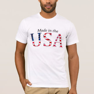 """""""Made in the USA"""" (BRIGHT) T-Shirt"""