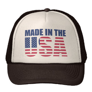 Made in the USA Cap