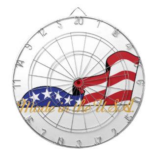 Made in the USA Dart Board